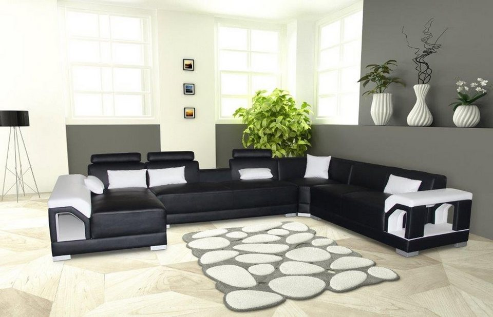 salesfever wohnlandschaft rechts zinnia kaufen otto. Black Bedroom Furniture Sets. Home Design Ideas