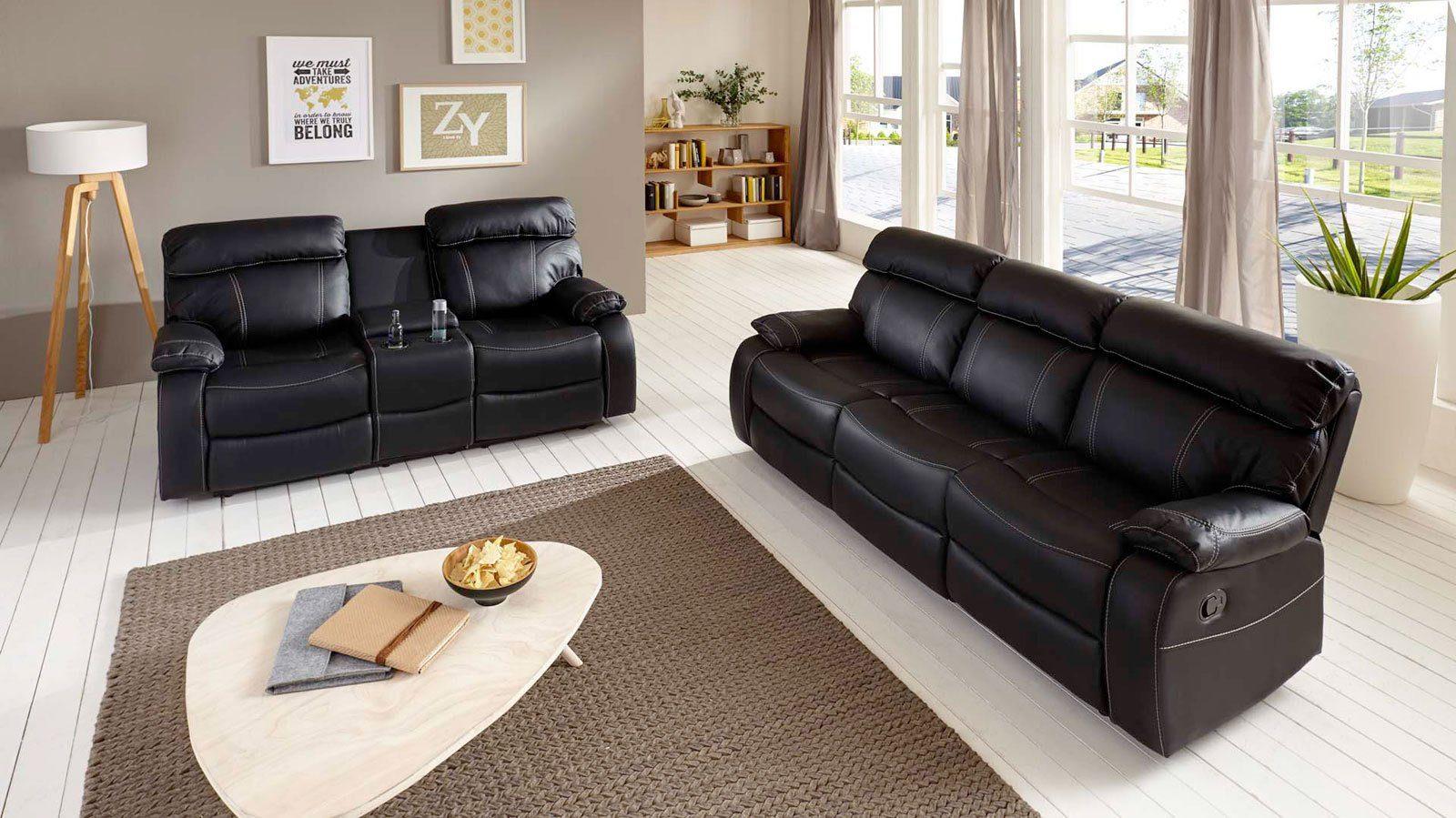 SalesFever Sofa Garnitur »Emil«