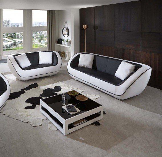 SalesFever Sofa Garnitur (2-tlg.) »Naomi«
