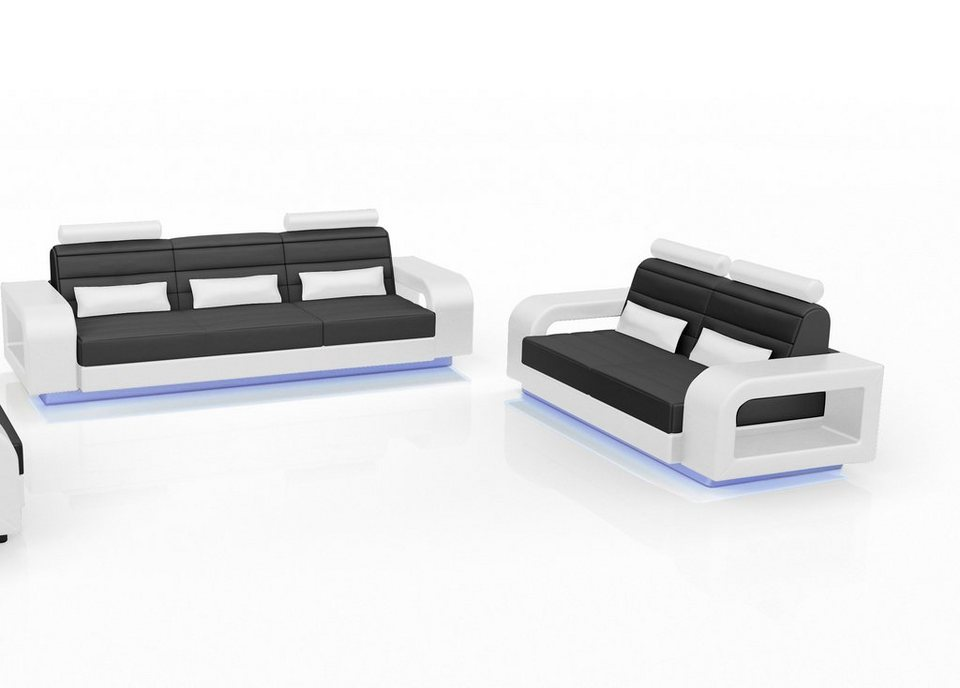 SalesFever Sofa Garnitur (2-tlg.) »Nediva«