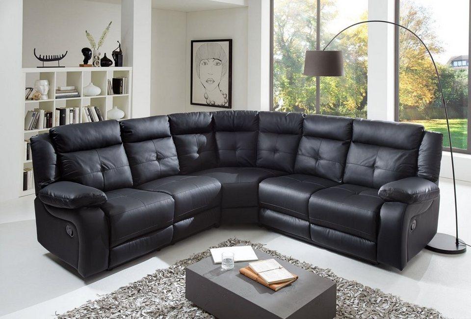 salesfever ecksofa alexis online kaufen otto. Black Bedroom Furniture Sets. Home Design Ideas