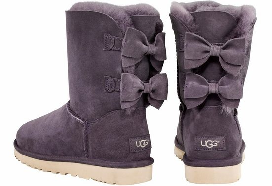 Ugg Meilani Winter Boots, With Fixed Suede Loop