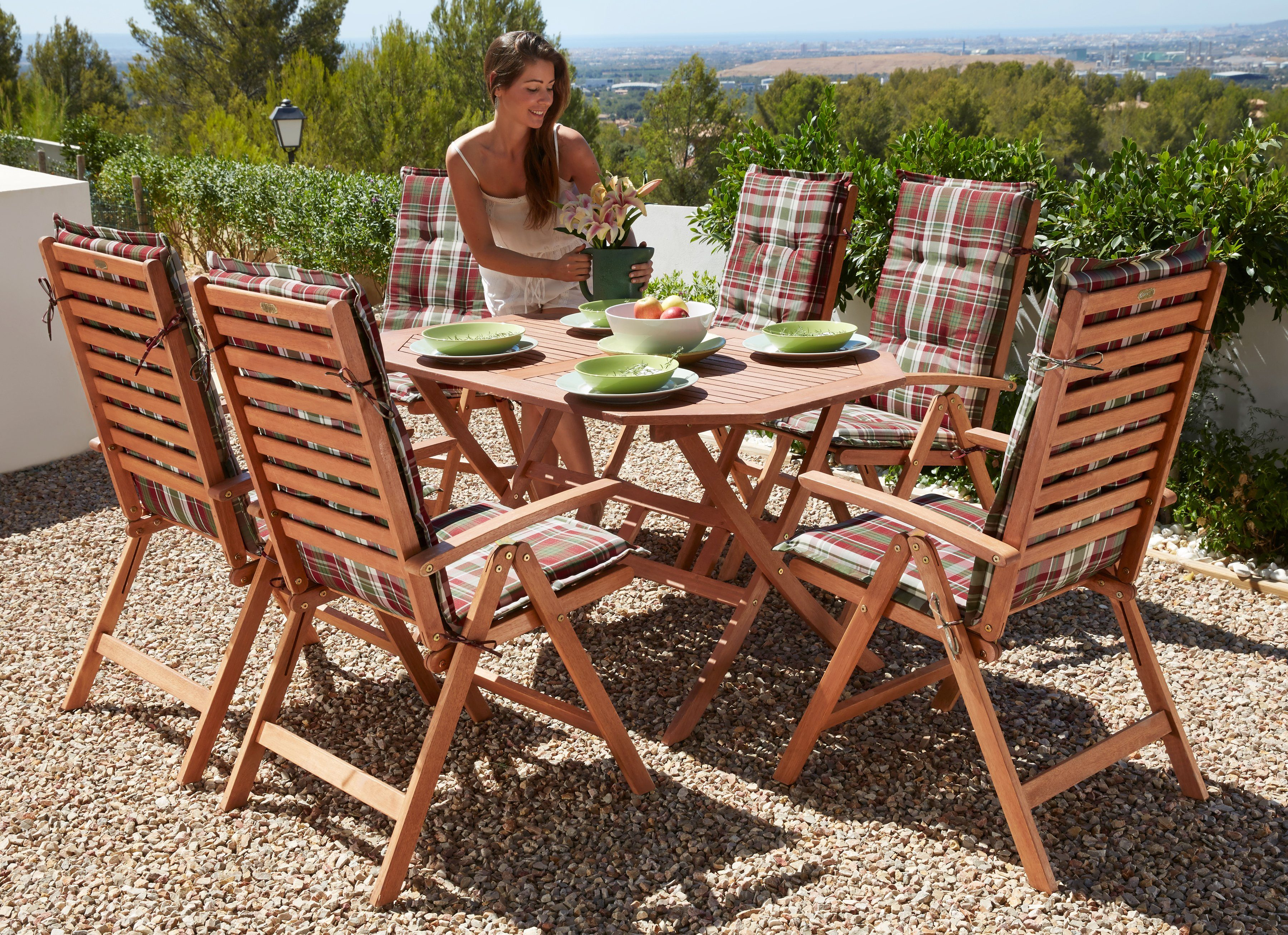 Gartenmöbel Set Holz Teilig ~ Gartenmöbel aus massivholz