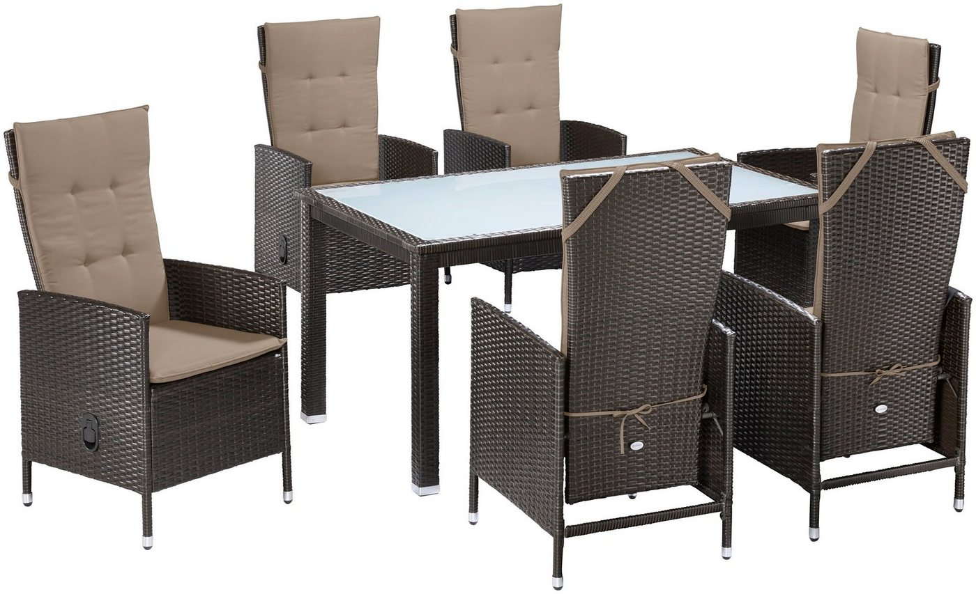 17 sparen gartenm bel set madrid 13 teilig nur 499 99 cherry m bel otto. Black Bedroom Furniture Sets. Home Design Ideas