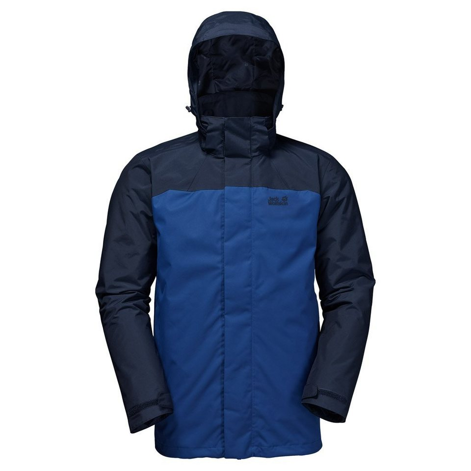 Jack Wolfskin Outdoorjacke »ECHO BAY MEN« 2 teilig in deep sea blue