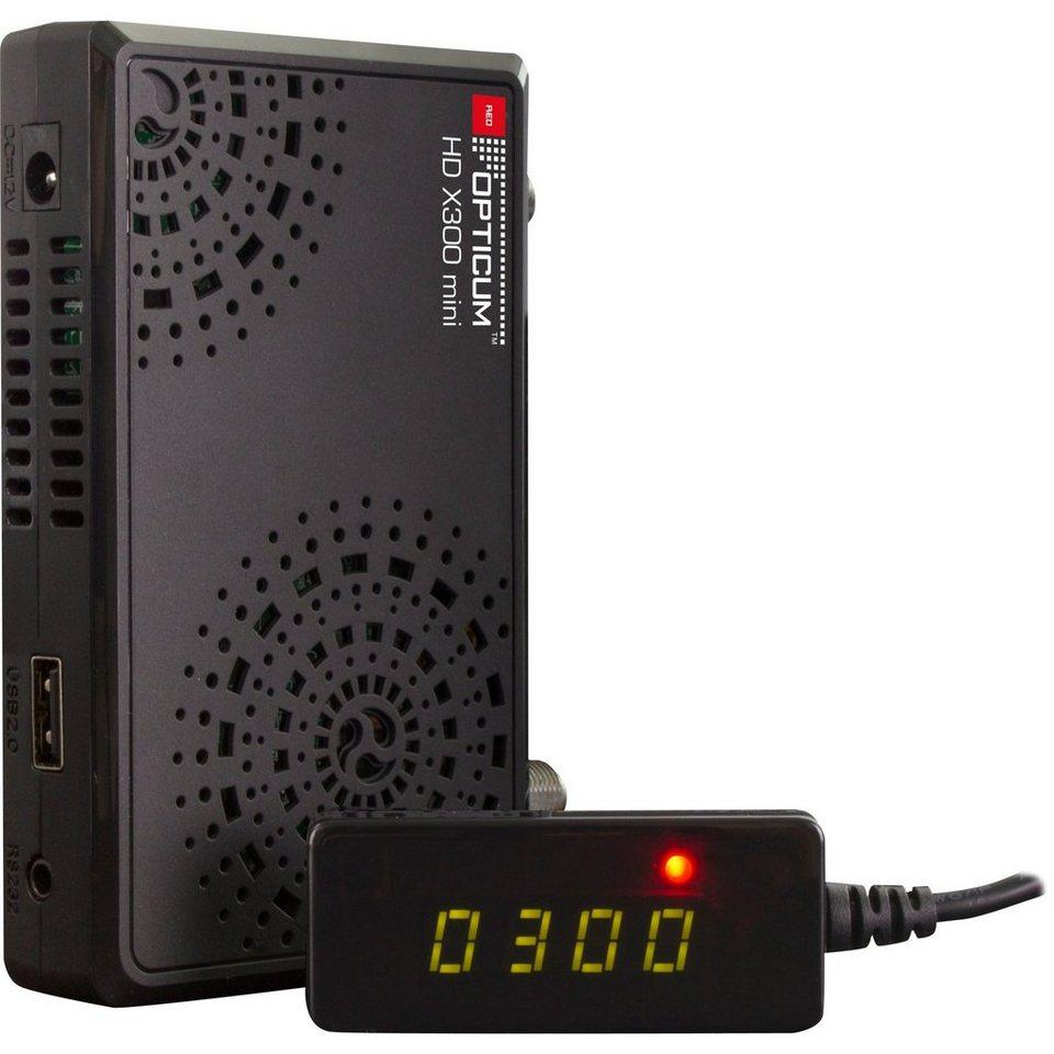 Opticum Red Sat-Receiver »HD X300 Mini Camping«