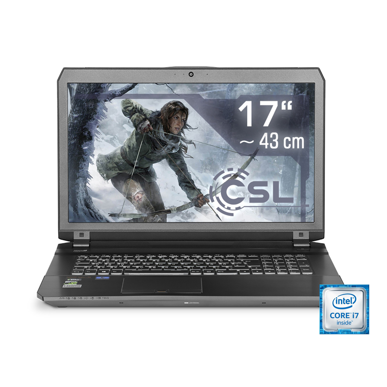 "CSL Gaming Notebook | i7-6700HQ | GTX 1070 | 16 GB DDR4 | 500 GB SSD »17.3"" Display - Gamer 1020«"