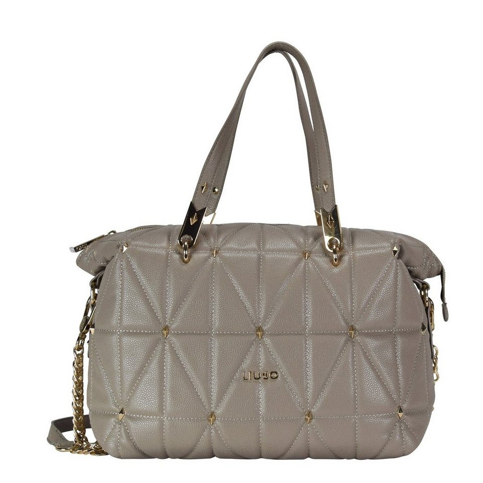 Liu Jo Bauletto Shopper Tasche 31 cm in tortora