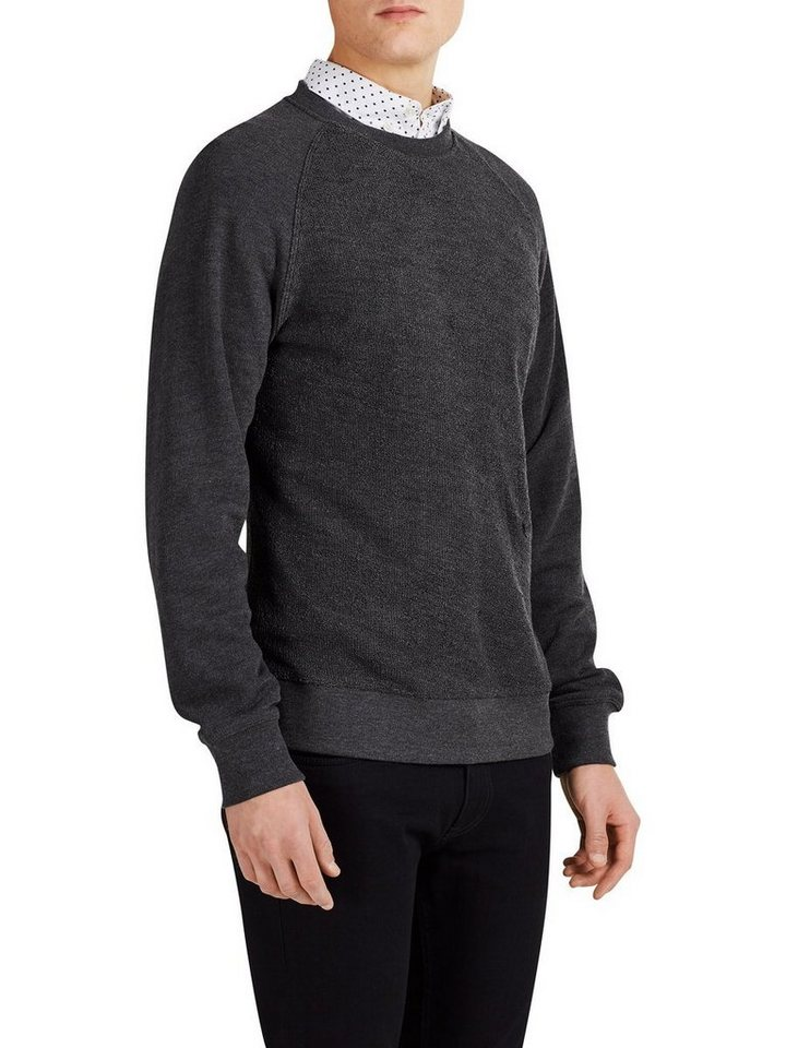 PRODUKT Lässiges Sweatshirt in Dark Grey Melange