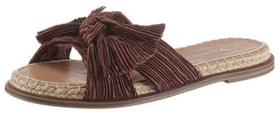 Tamaris »PHILINA« Pantolette mit modischer Zierschleife