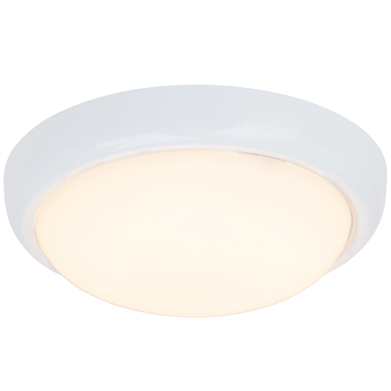 Brilliant Leuchten Vigor LED Wand- und Deckenleuchte weiß