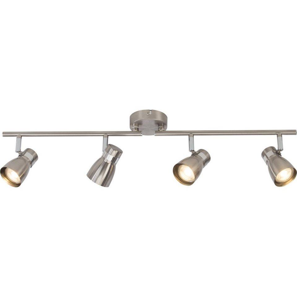 BreLight Mattie LED Spotrohr, 4-flammig eisen/chrom in eisen/chrom
