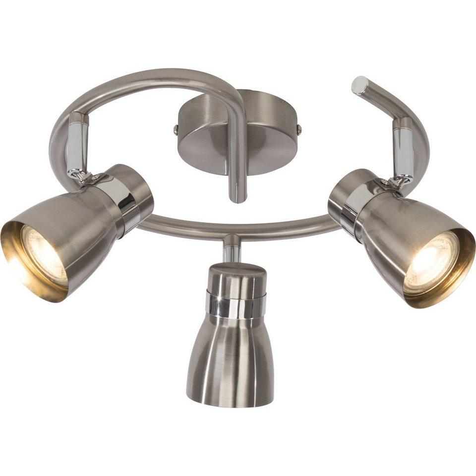 BreLight Mattie LED Spotspirale, 3-flammig eisen/chrom in eisen/chrom