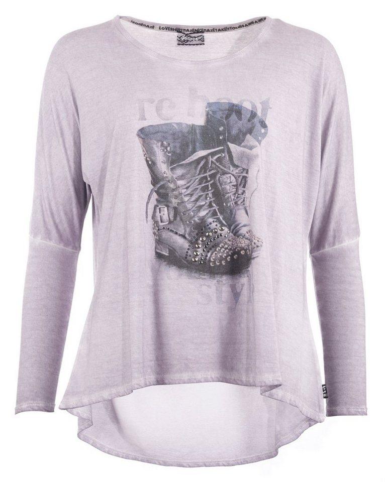 MAZE Shirt, Damen M16710 in grau