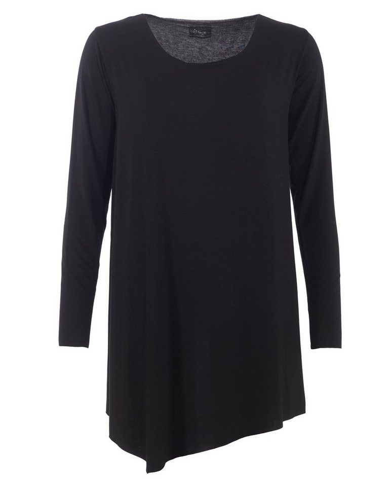 MAZE Longshirt, Damen M16701 in schwarz
