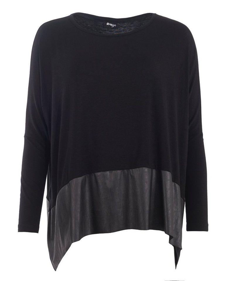 MAZE Shirt, Damen M16727 in schwarz