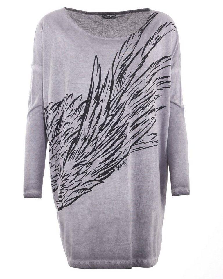 MAZE Longshirt, Damen M16702 in grey