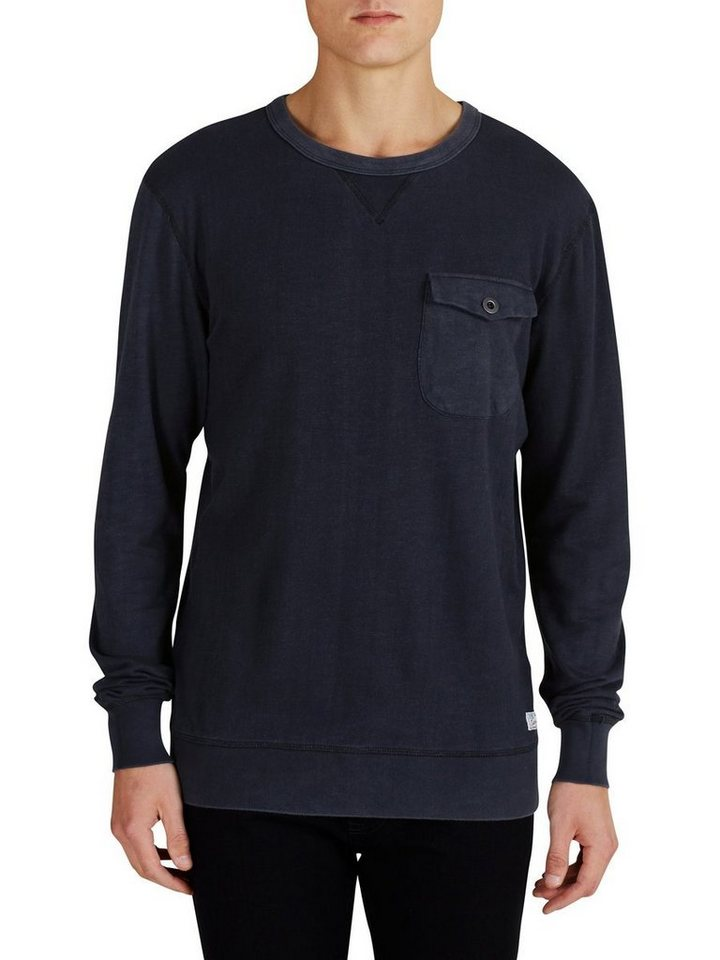 Jack & Jones Rustikales Sweatshirt in Caviar