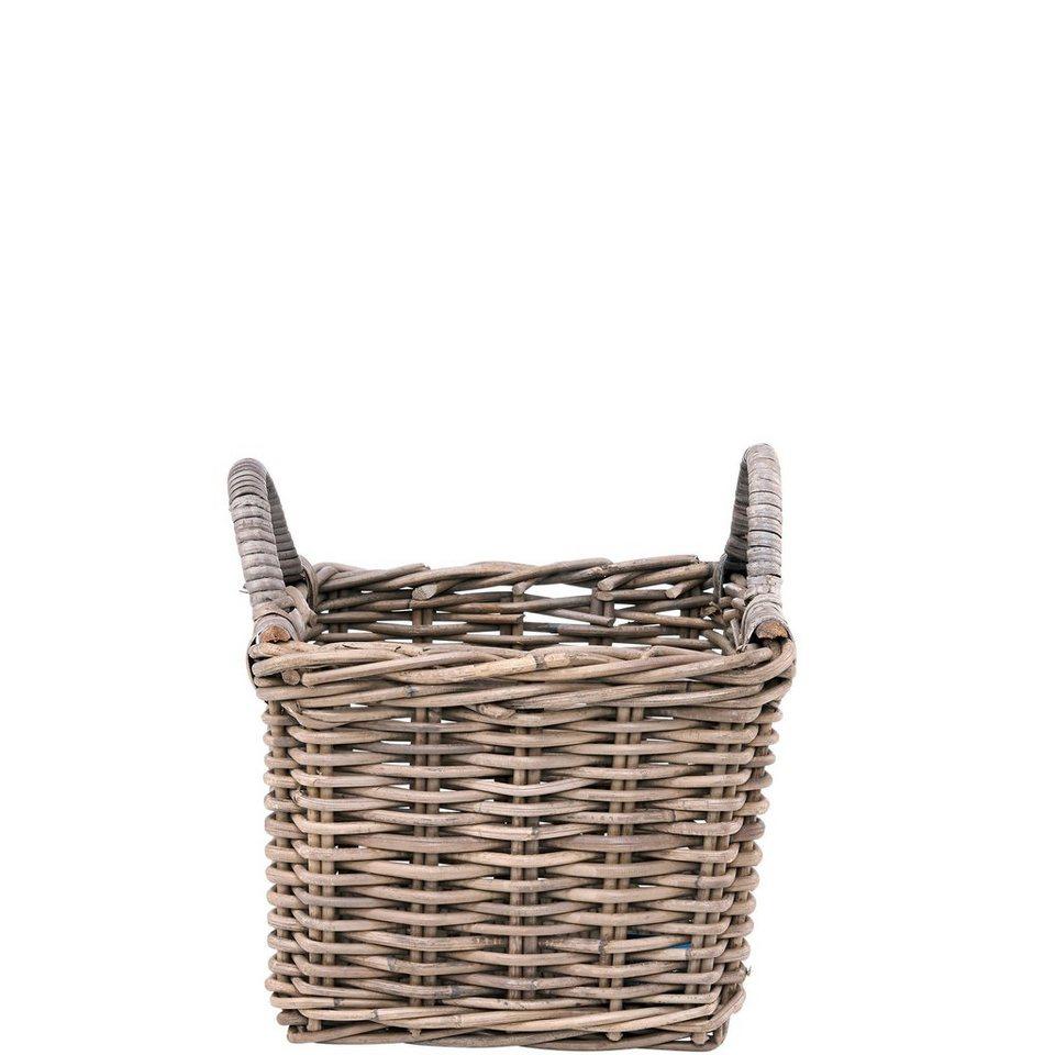 BUTLERS LE HAVRE »Rattankorb klein« in Braun