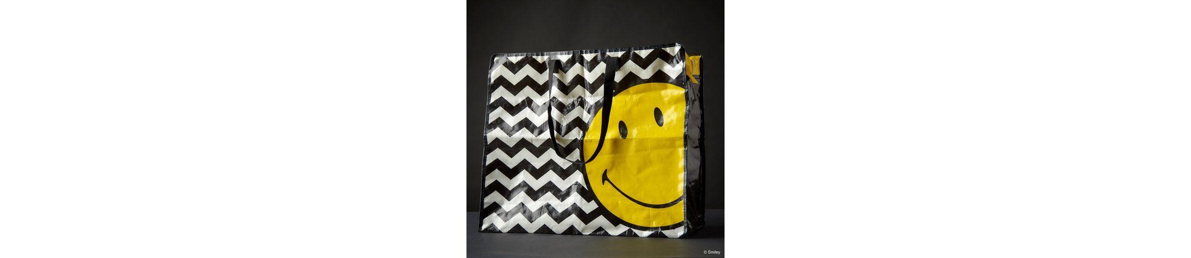 BUTLERS SMILEY »Jumbotasche Smiley Wellen«