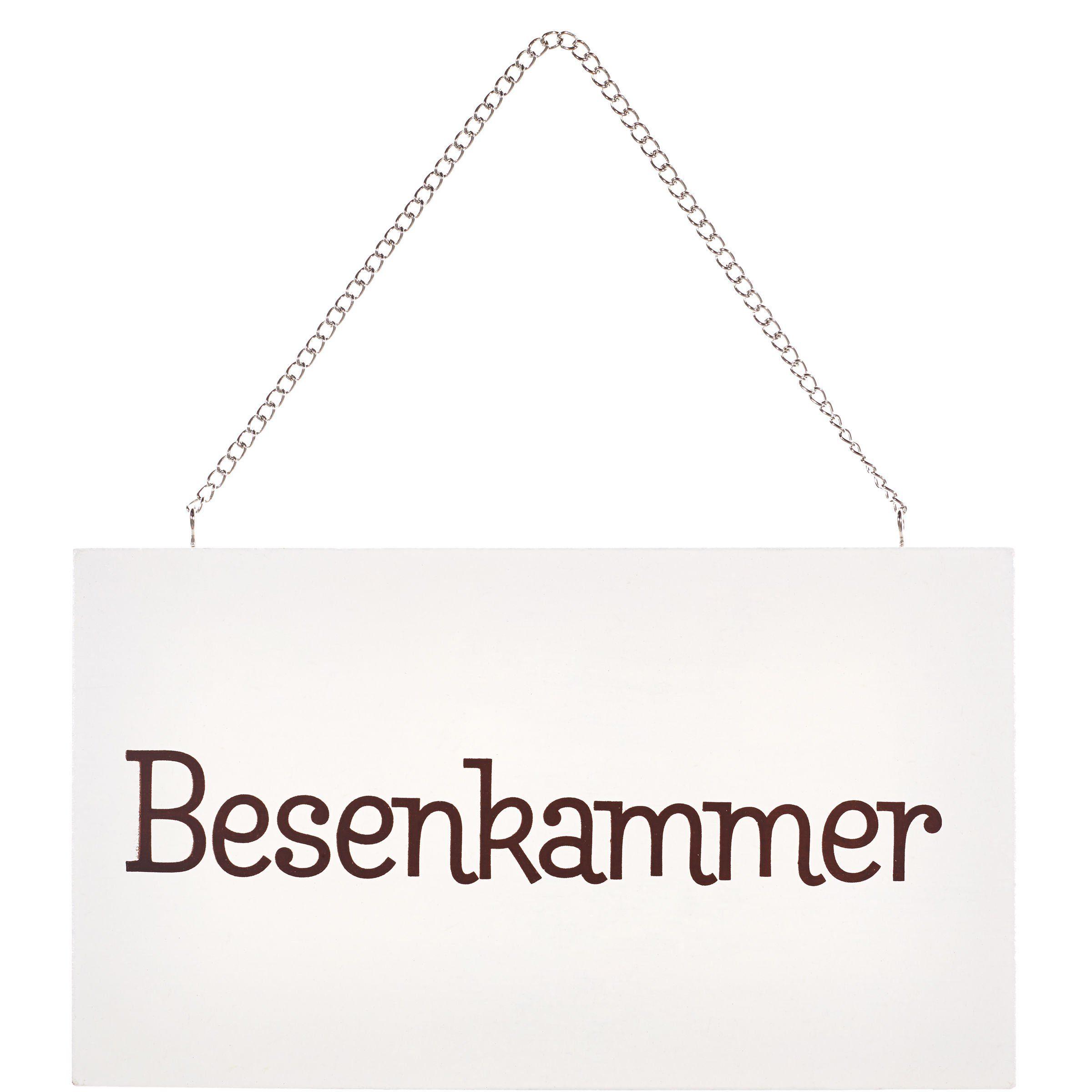"""BUTLERS STORYBOARD »Schild """"Besenkammer""""«"""
