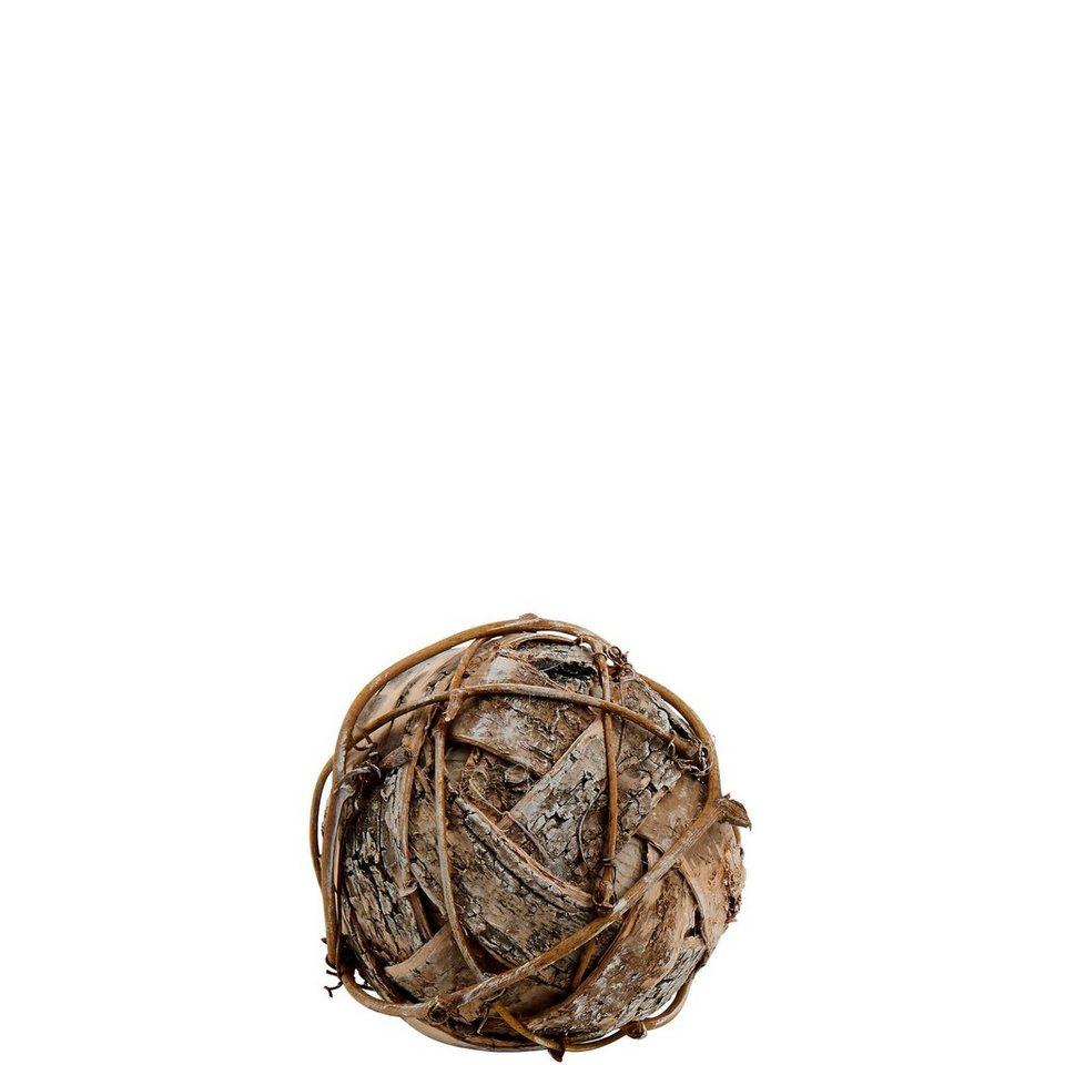 BUTLERS WINTERGREEN »Birkenkugel groß« in braun