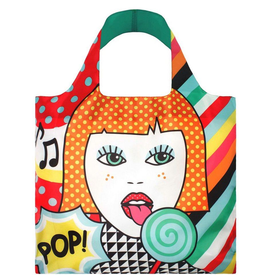 BUTLERS LOQI »Einkaufstasche Lollipop« in bunt