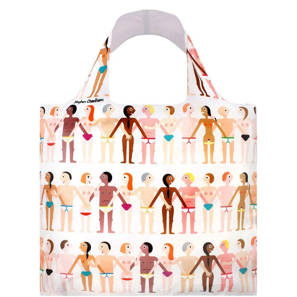 BUTLERS LOQI »Einkaufstasche Sexy« in weiss