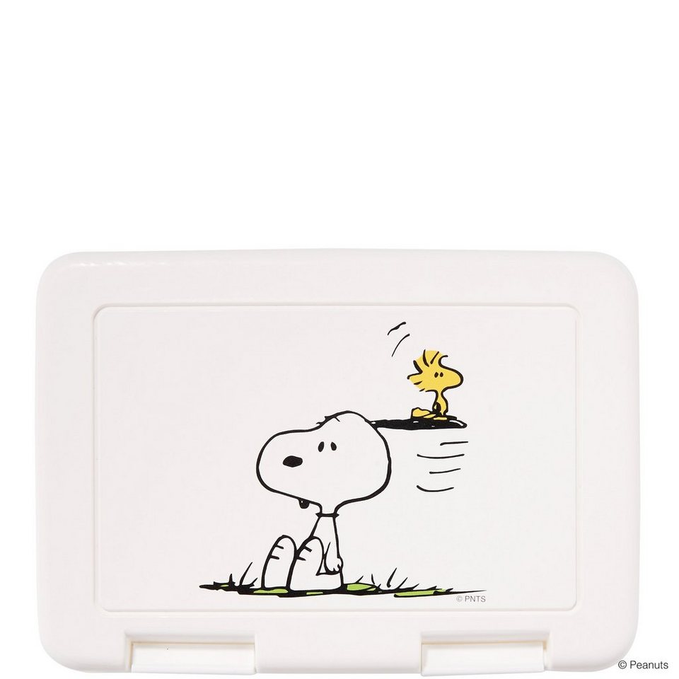 BUTLERS PEANUTS »Brotdose Snoopy & Woodstock« in weiss