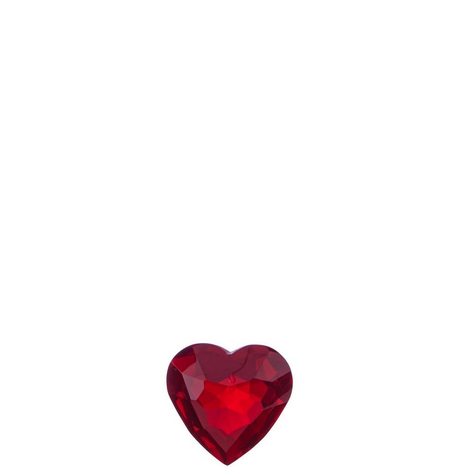 BUTLERS MONBIJOU »Kristall-Herz groß« in rot