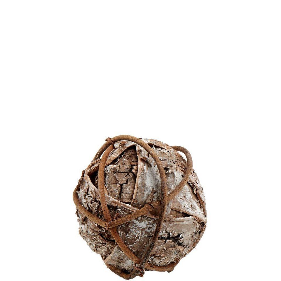 BUTLERS WINTERGREEN »Birkenkugel klein« in braun