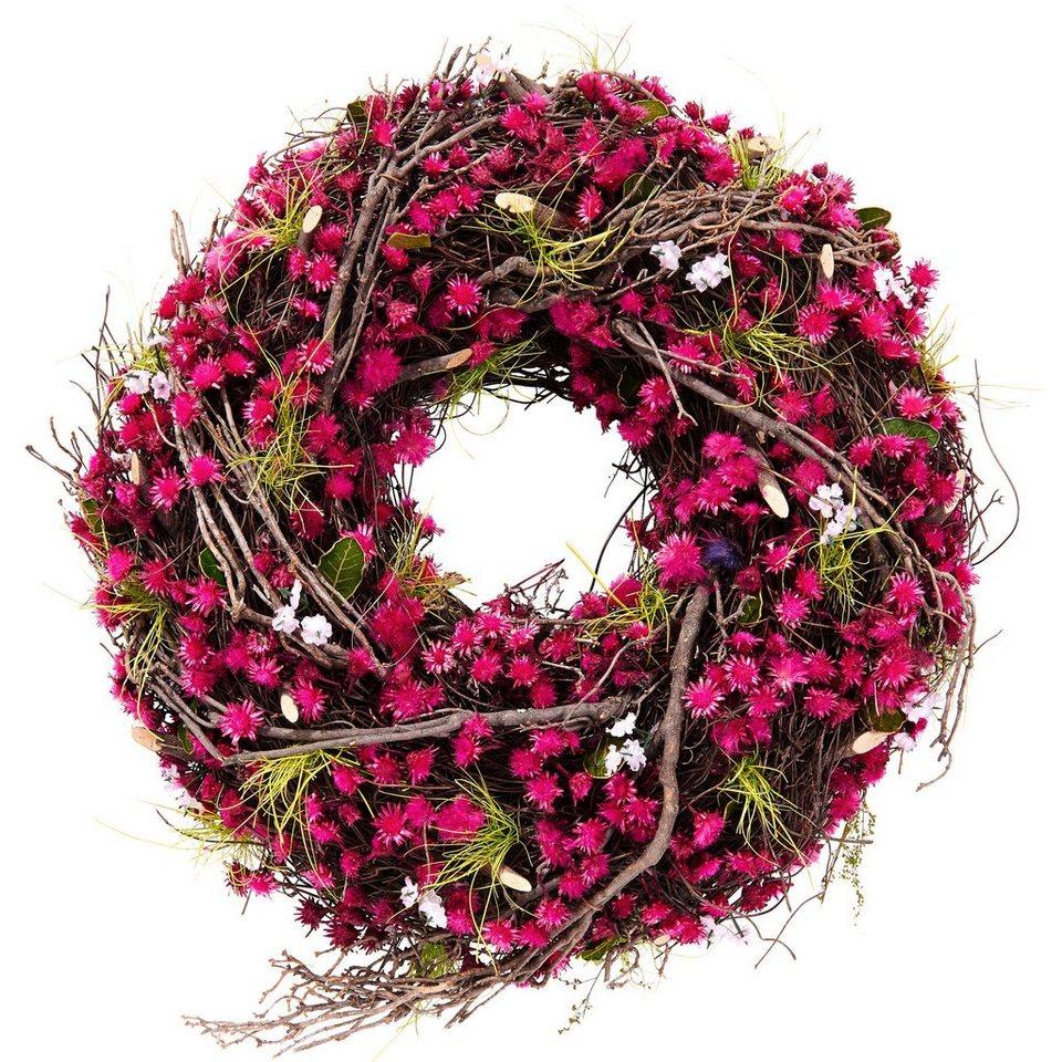 BUTLERS FLORISTA »Blumen Kranz« in pink