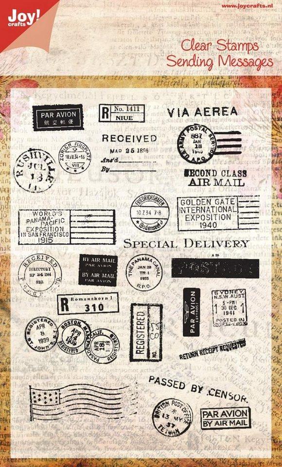 "Clear Stamps ""Poststempel"""