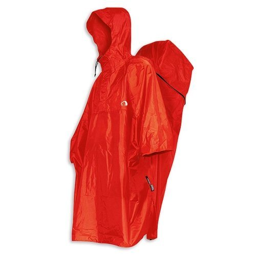 Tatonka Ponchos »Cape Men S« in red