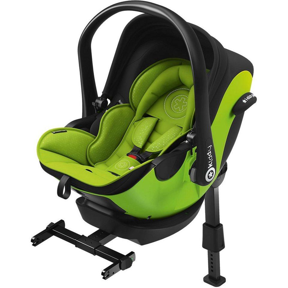 kiddy babyschale evoluna i size lime green inkl base. Black Bedroom Furniture Sets. Home Design Ideas