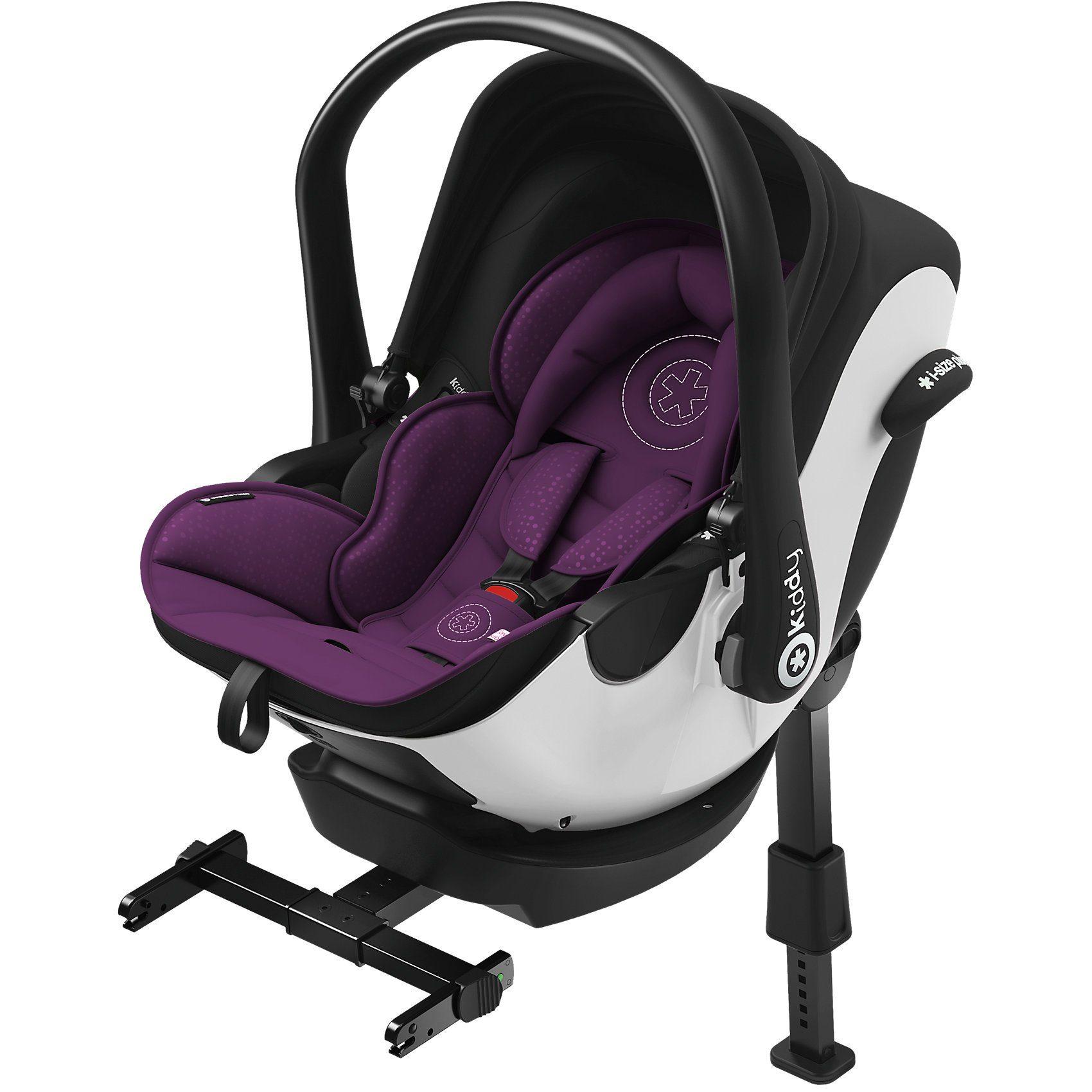 kiddy Babyschale Evoluna i-Size, royal purple, inkl. Base, 2018