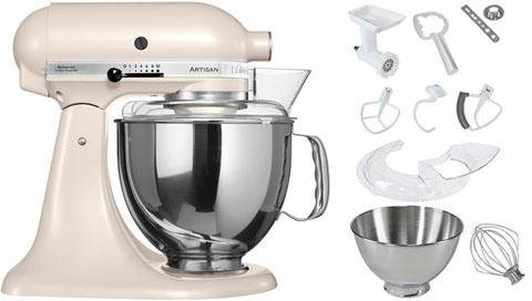 KitchenAid® Küchenmaschine 5KSM175PSELT Artisan, inkl Sonderzubehör im Wert von ca. 214,-€, baiser in baiser