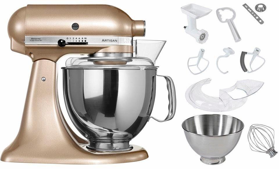 KitchenAid® Küchenmaschine 5KSM175PSECZ Artisan, inkl Sonderzubehör im Wert von ca. 214,-€