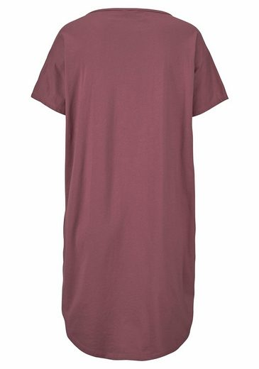 Buffalo Bigshirt mit Frontprint oder geblümt