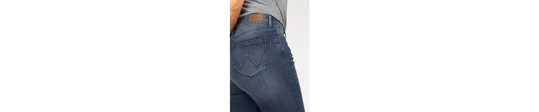 Wrangler High-waist-Jeans, Skinny fit