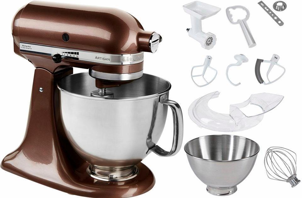 KitchenAid® Küchenmaschine 5KSM175PSEAP Artisan, inkl Sonderzubehör im Wert von ca. 214,-€ in Macadamia