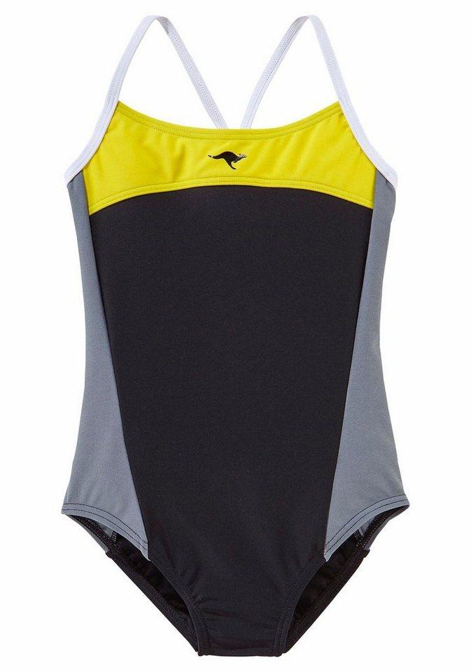kangaroos badeanzug im sportlichen look kaufen otto. Black Bedroom Furniture Sets. Home Design Ideas