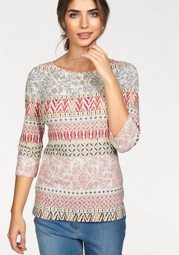 Olsen T-Shirt Rundhalsshirt, mit grafischem Druck
