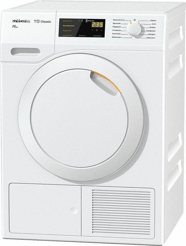 MIELE Trockner TDB130WP Eco, A++, 7 kg in weiß