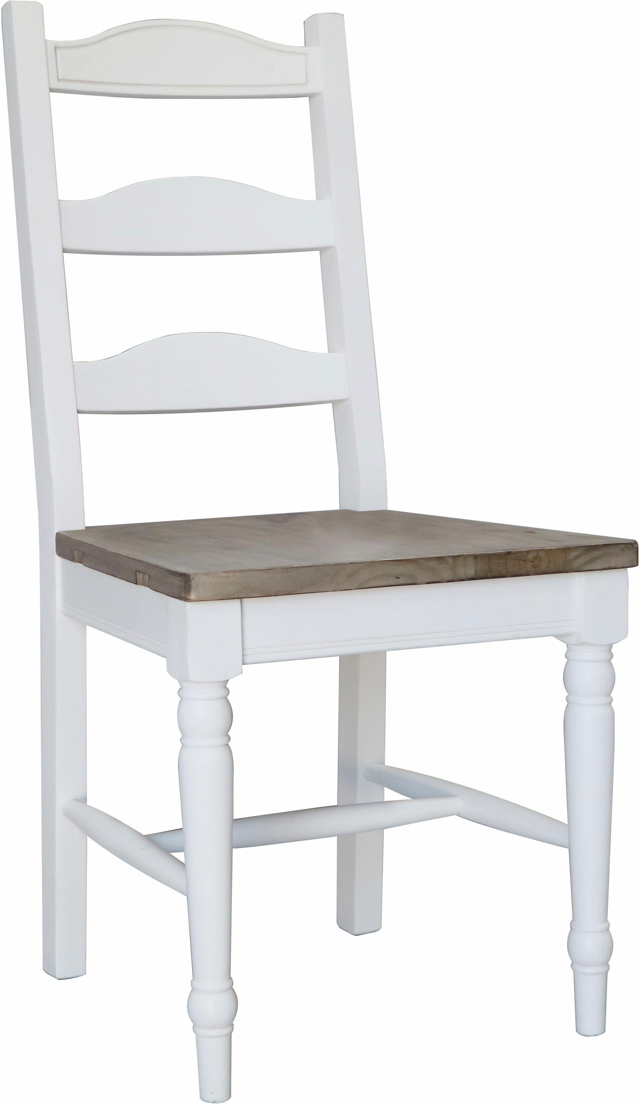 THE WOOD TIMES Stuhl-Set »Vermont«, 2-tlg. Sitzhöhe 45 cm