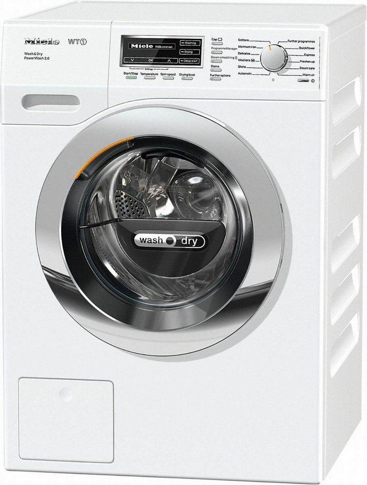 MIELE Waschtrockner WTF130 WPM PWash 2.0 D, A, 7 kg / 4 kg, 1600 U/Min in weiß
