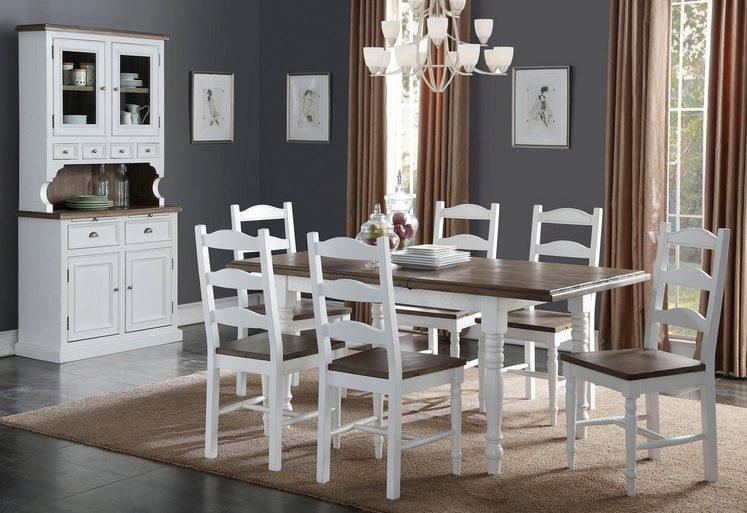 the wood times esstisch vermont breite 140 cm ausziehbar auf 180 cm online kaufen otto. Black Bedroom Furniture Sets. Home Design Ideas