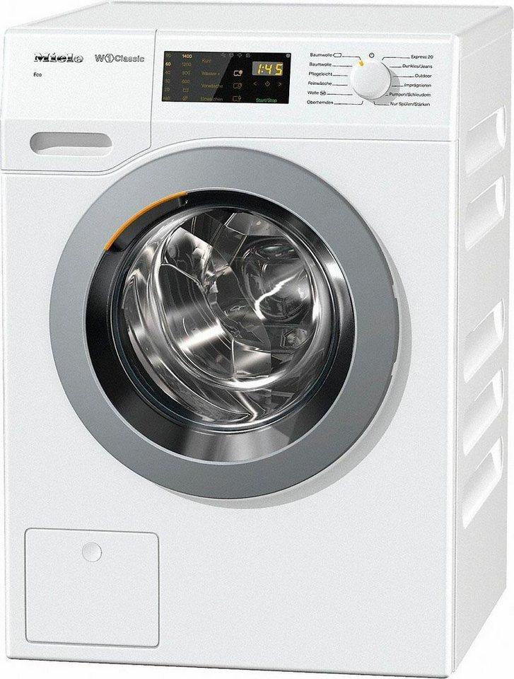 MIELE Waschmaschine WDB030WPS D LW Eco, A+++, 7 kg, 1400 U/Min in weiß
