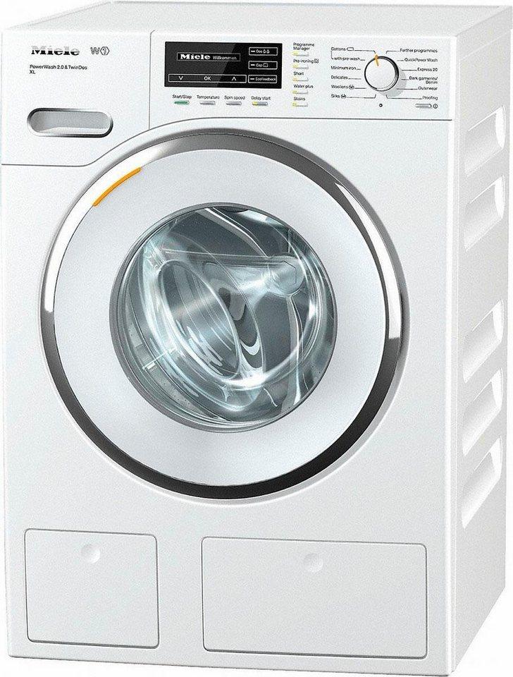MIELE Waschmaschine WMH122WPS D LW PWash 2.0 & TDos XL, A+++, 9 kg, 1600 U/Min in weiß