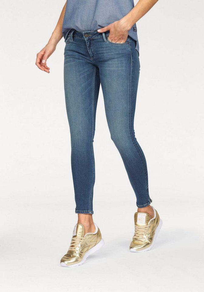 Damen Cross Jeans® Skinny-fit-Jeans Giselle blau, grau, schwarz, weiß   08699438591420